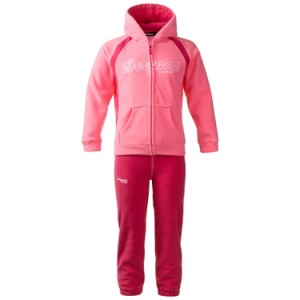 Smadol set - dziecięcy dres polarowy Bergans of Norway / lollipop - hot pink